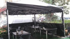 Carpa plegable de 4x4.