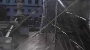 Carplas plegables de 3x3 con lonas laterales transparentes y fijación a base de cuerdas-